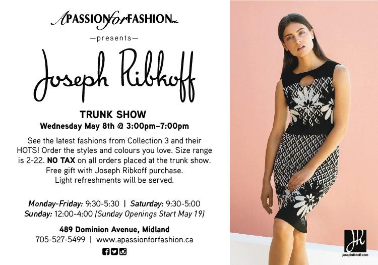 e7c6c46760f5 JOSEPH RIBKOFF TRUNK SHOW IS TODAY FROM 3 00 - 7 00 P.M.! Here s the  rundown on what s happening   Our lovely rep