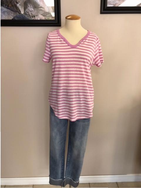 Pink Stripe//Black Pink Hearts//Grey Members Mark Girls Size 8 Soft 3-Pack Jeggings